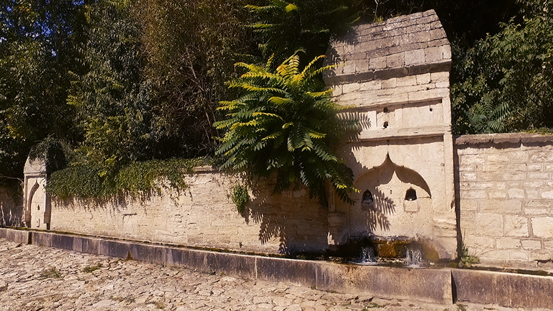 The old fountains